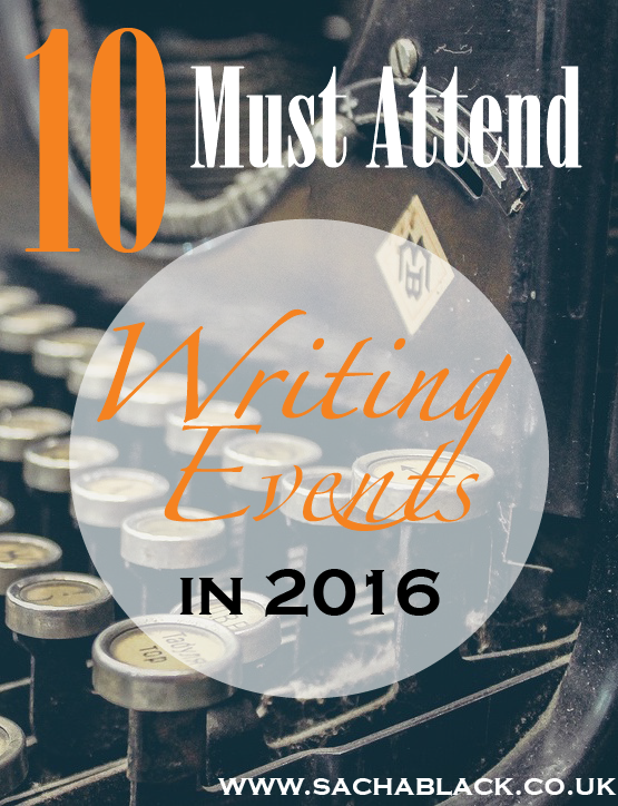 10 Must Attend Writing Events
