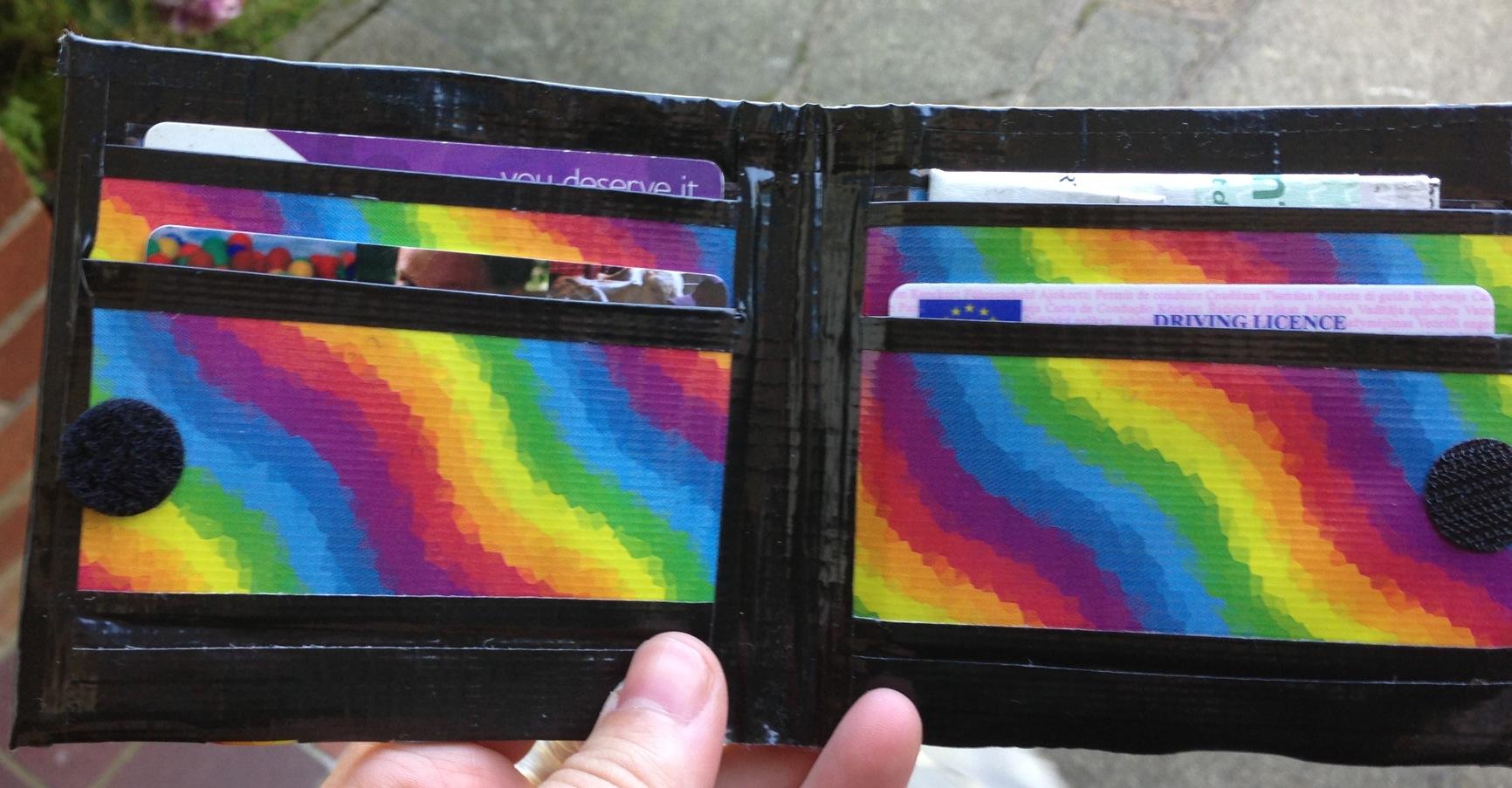 rainbow wallet 1