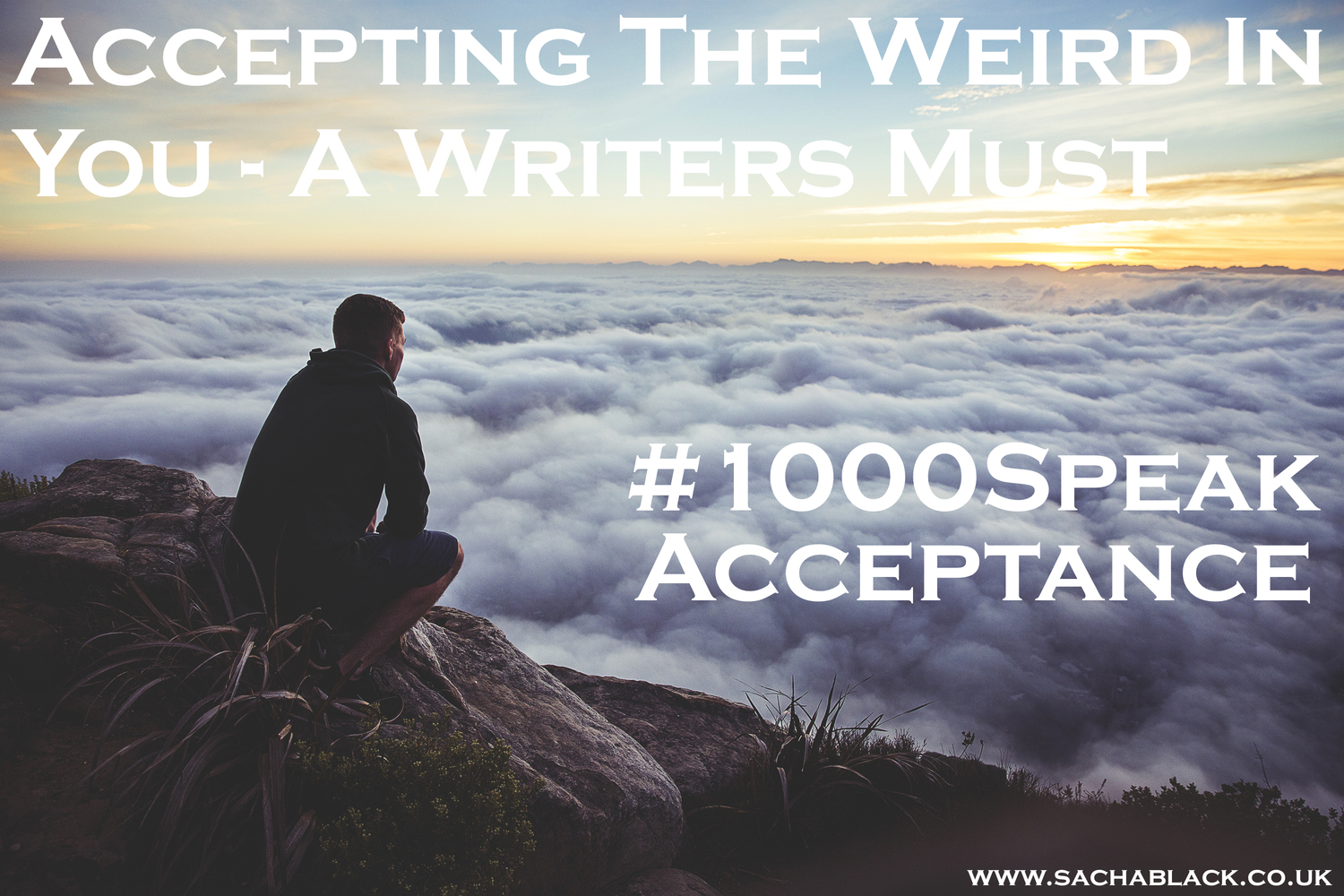 Accepting the weird in you - a writers must