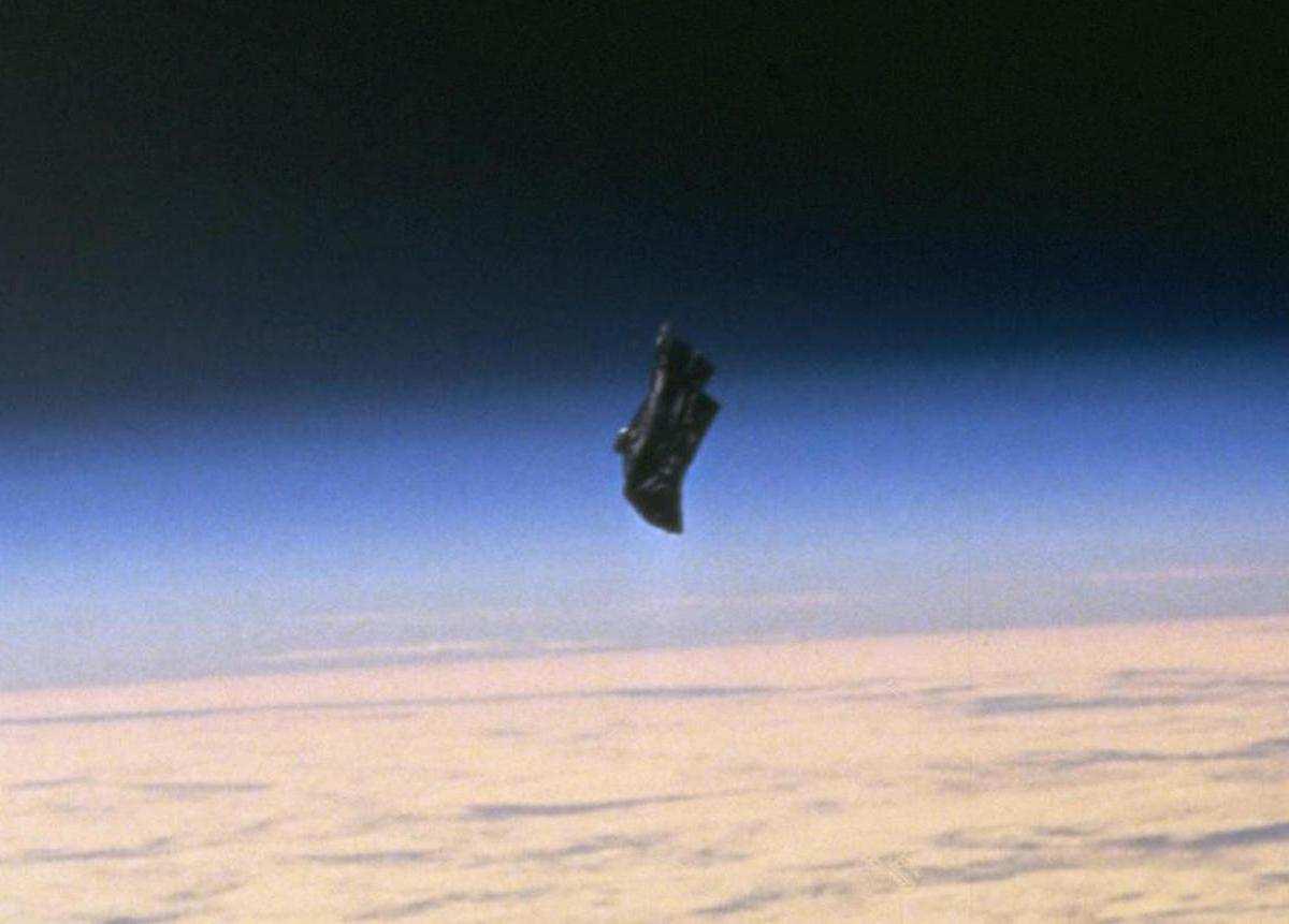 Black Knight image taken by NASA