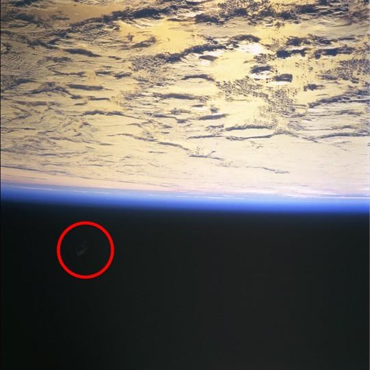 NASA Photo ID STS088-724-65 - Taken 1998.12.11 The Black Knight