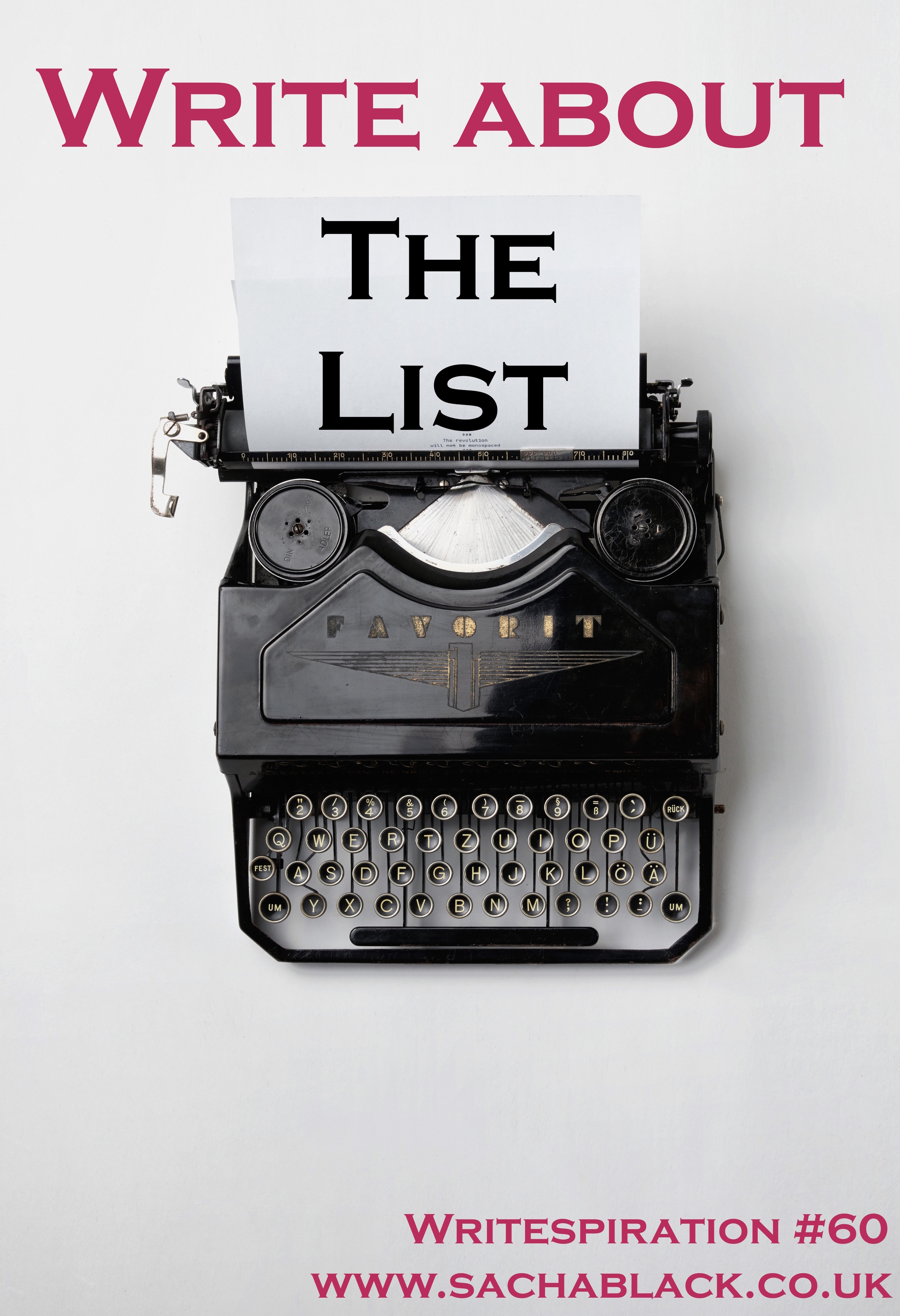 Write About The List