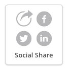 Button that allows subscribers to share your newsletter with others