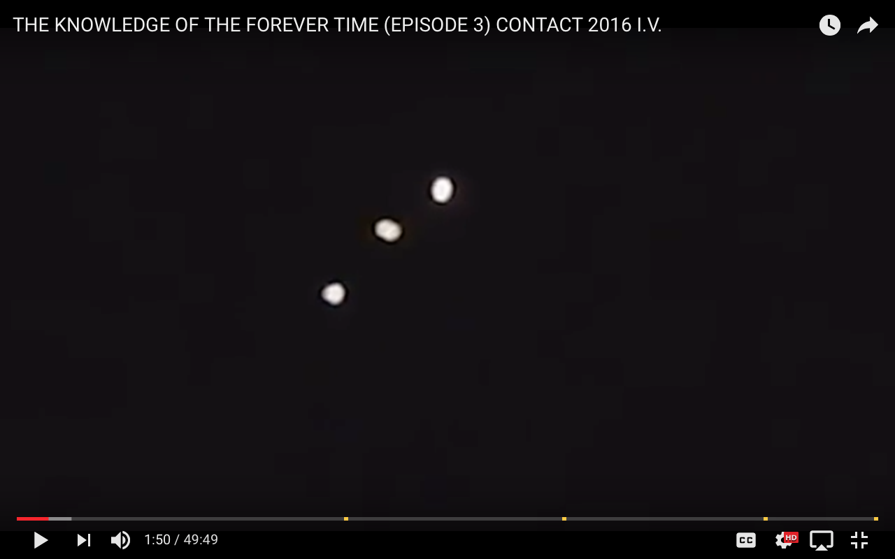 Screen shot of Damon T Berry's 3rd Epsiode of The Knowledge of the Forever Time Series.