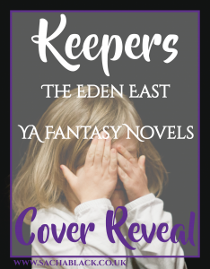 *COVER REVEAL* Keepers #1 in The Eden East Novels #MondayBlogs - SACHA BLACK